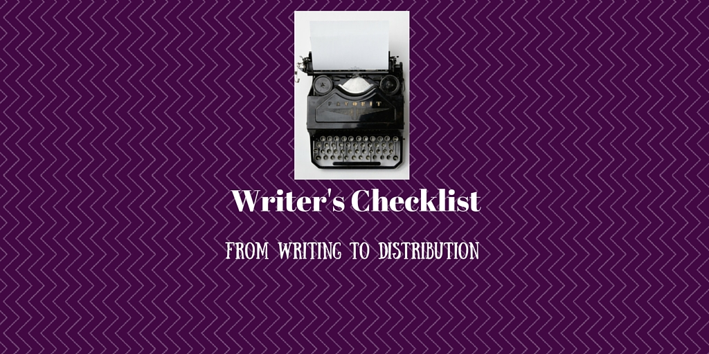 Writers Checklist