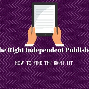 Finding The Right Independent Publisher For You