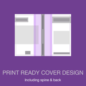 print ready cover design package