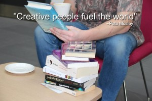 """Creative people fuel the world"""