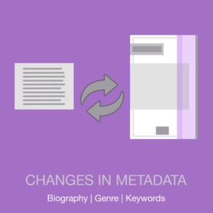 Changes in metadata