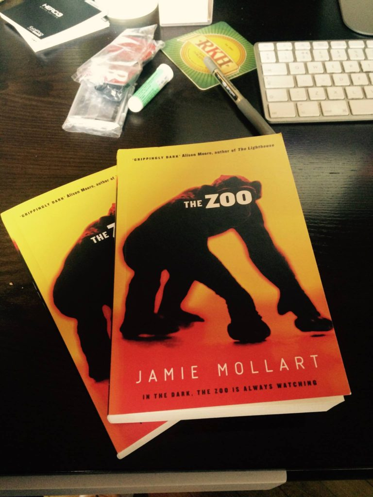 Jamie Mollart the zoo