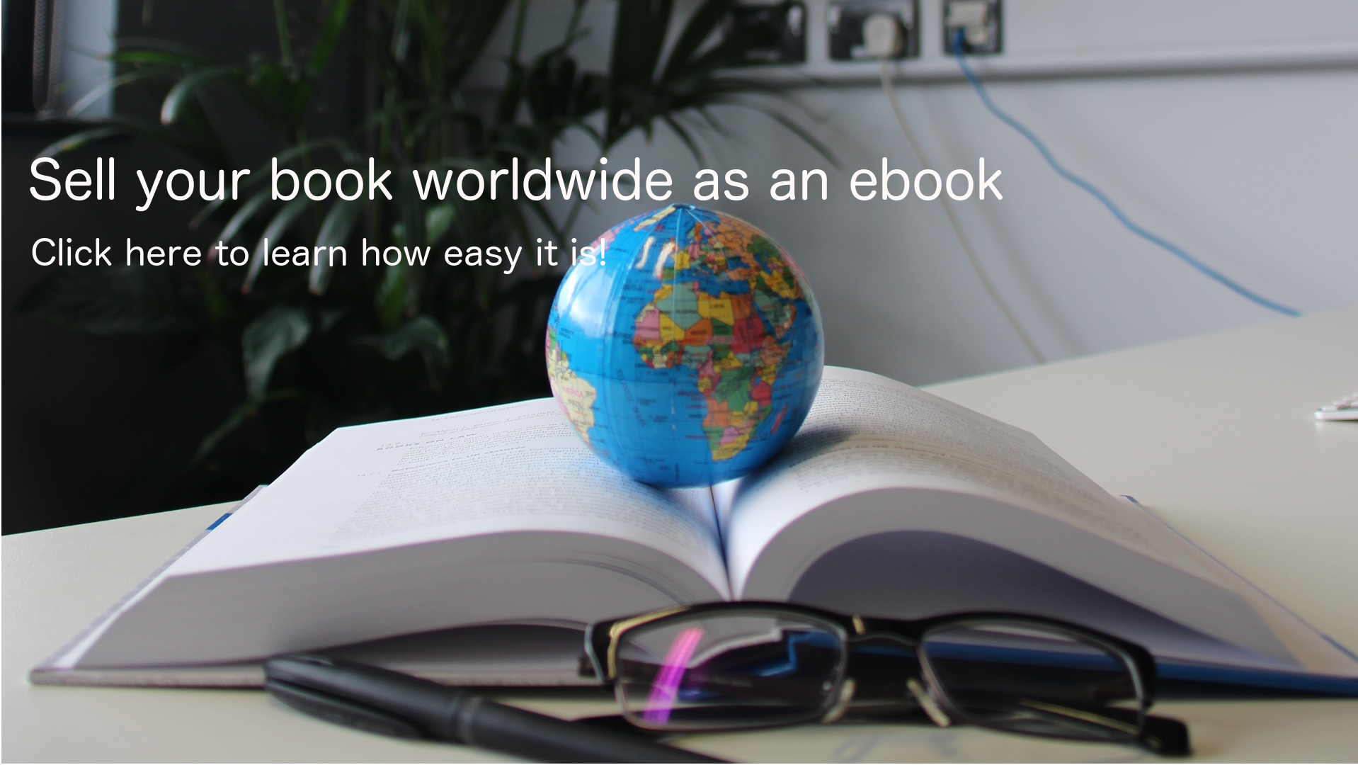 globe on top of open book